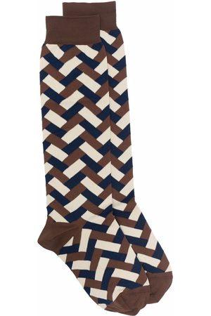 Jil Sander Women Socks - Geometric-pattern socks