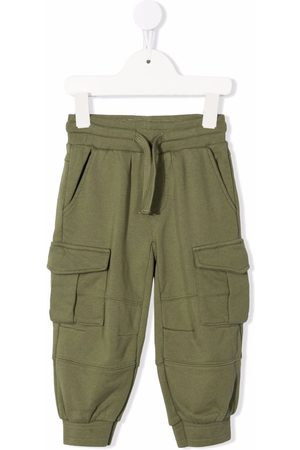 Stella McCartney Girls Cargo Pants - Drawstring cargo trousers