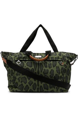 Dolce & Gabbana Men Luggage - Leopard print holdall