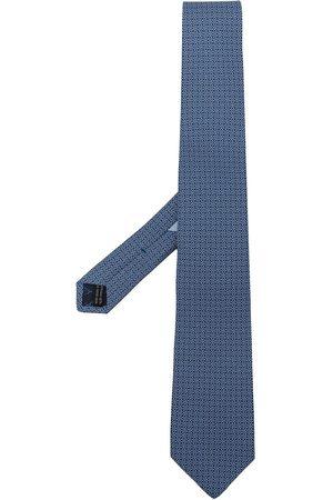 Salvatore Ferragamo Men Bow Ties - Gancini-print tie