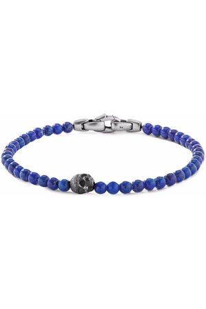 David Yurman Men Bracelets - 4mm skull bead bracelet