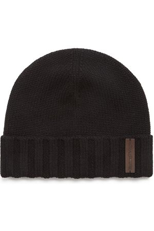 Ermenegildo Zegna Knitted cashmere beanie hat