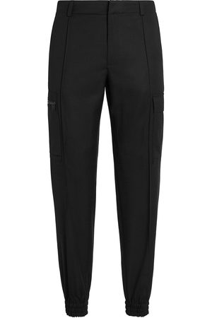 Z Zegna Tapered wool cargo trousers