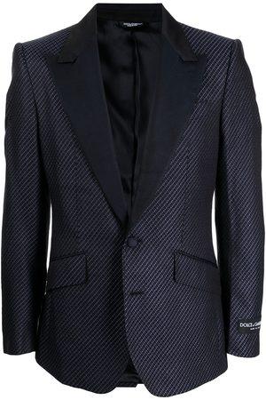 Dolce & Gabbana Men Blazers - Silk single-breasted blazer