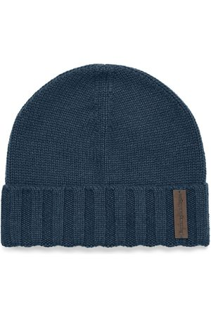 Ermenegildo Zegna Men Beanies - Knitted cashmere beanie hat