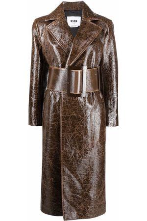 Msgm Women Trench Coats - Midi trench coat
