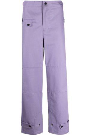 Msgm Straight-leg utility trousers