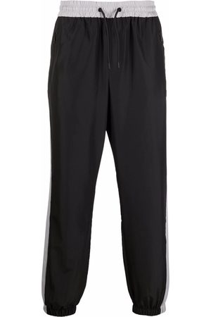 Msgm Men Sports Pants - Logo tracksuit bottoms