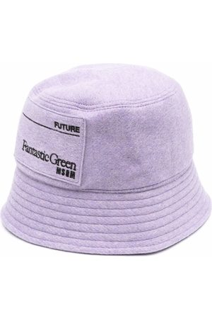 Msgm Logo-print bucket hat