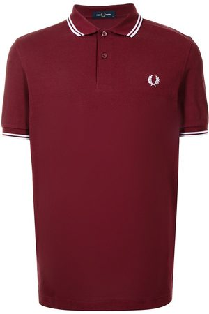 Fred Perry Men Polo Shirts - Twin Tipped cotton polo shirt