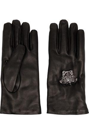 VERSACE Men Gloves - La Medusa leather gloves