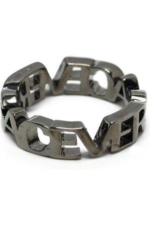 VERSACE Men Rings - Logo letter ring