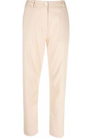 RAG&BONE Women Straight Leg Pants - High-waisted straight-leg trousers - Neutrals