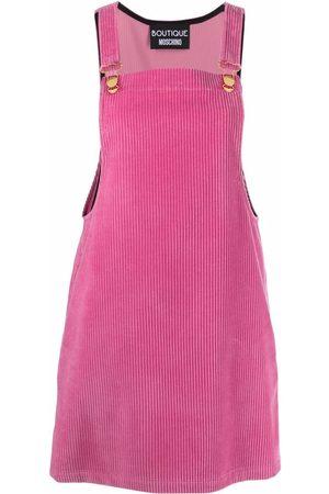 Moschino Women Dresses - Corduroy pinafore dress