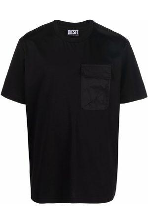 Diesel Men Sweatshirts - Chest-pocket crewneck T-shirt