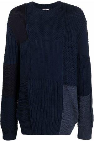 Diesel Textured-knit wool jumper