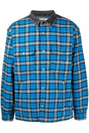 Diesel Men Shirts - Check-print padded shirt