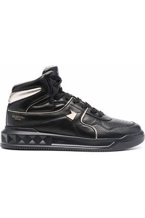 VALENTINO GARAVANI Men Sneakers - Roman Stud high-top sneakers