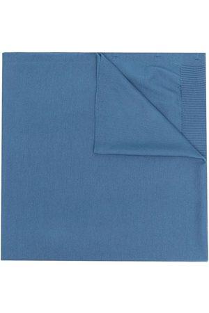 Aspesi Scarves - Large logo button scarf
