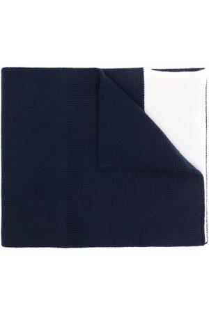 Aspesi Scarves - Two-tone wool scarf