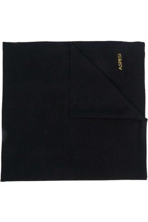 Aspesi Large button scarf