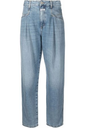 Closed Women Tapered - Pearl pleated jeans
