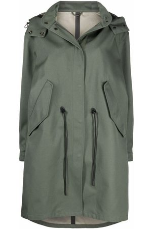 Closed Women Trench Coats - Kelli hooded raincoat