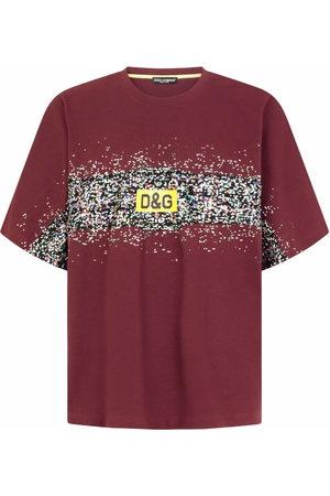 Dolce & Gabbana Men Short Sleeve - Graphic-print short-sleeve T-shirt