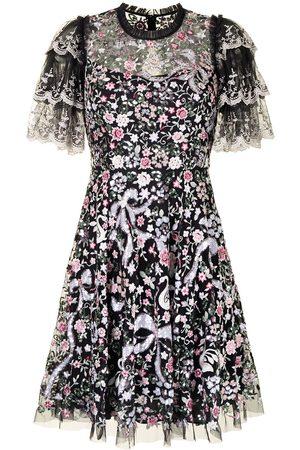 Needle & Thread Odette floral-print dress - Multicolour
