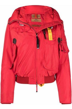 Parajumpers Women Bomber Jackets - Gobi hooded bomber jacket