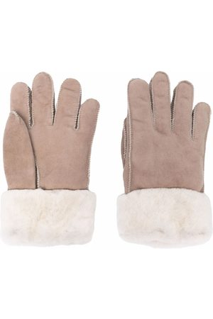 Parajumpers Gloves - Shearling-lined gloves - Neutrals