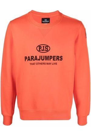 Parajumpers Men Sweatshirts - Logo-print cotton sweatshirt