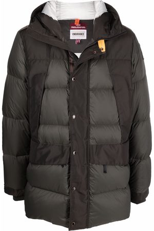Parajumpers Men Puffer Jackets - Hooded padded coat