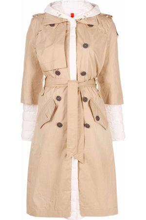 Parajumpers Women Parkas - Ronney hybrid midi coat - Neutrals