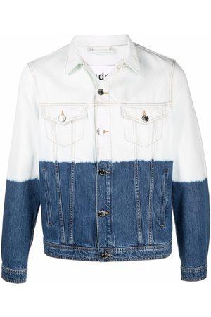 Etudes Men Denim Jackets - Kentucky bleached denim jacket