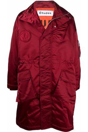 Etudes Men Coats - Ohio zipped-hood coat