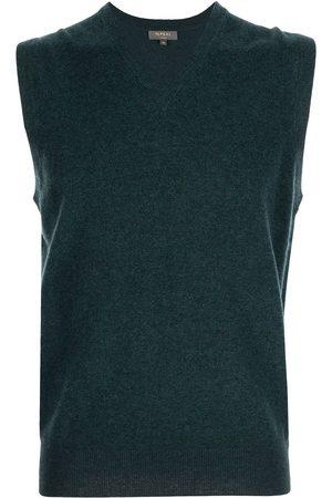 N.PEAL Men Tank Tops - V-neck cashmere vest