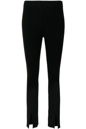 Lisa Yang Women Skinny Pants - Sima ribbed cashmere trousers