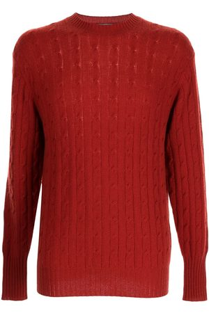 N.PEAL The Thames cable-knit jumper