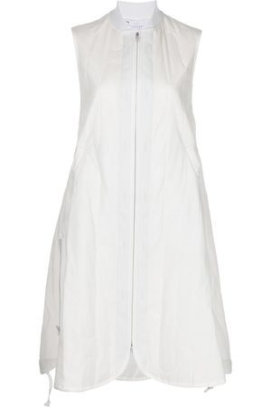 Y-3 Women Casual Dresses - Ch2 quilted sleeveless shirt dress