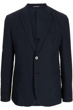 Emporio Armani Men Blazers - Narrow lapels blazer
