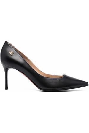 BALDININI Women Heels - Pointed-toe leather pumps