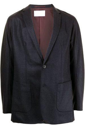 Kolor Men Blazers - Notched-lapels single-breasted blazer