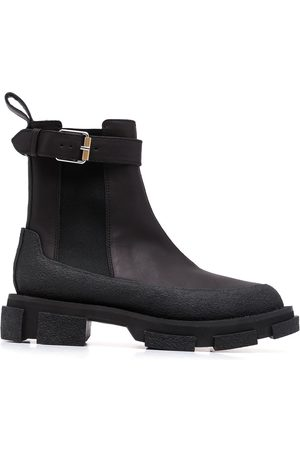 DION LEE Gao buckled ankle boots