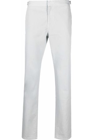 Orlebar Brown Men Chinos - Buckle-detail cotton chinos