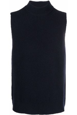Marni Men Tank Tops - Sleeveless knit vest