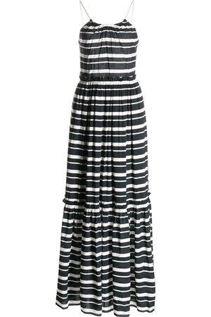 JONATHAN SIMKHAI Women Printed Dresses - Stripe-print beach dress