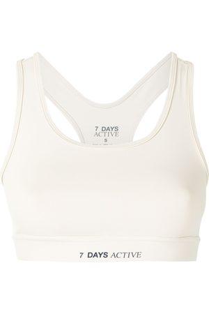 7 DAYS ACTIVE Women Sports Bras - Logo-print sports bra