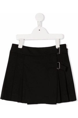 P.a.r.o.s.h. Girls Mini Skirts - Pleated virgin wool mini skirt