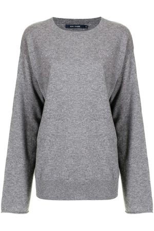 SOFIE D'HOORE Women Sweaters - Fine-knit round-neck jumper - Grey